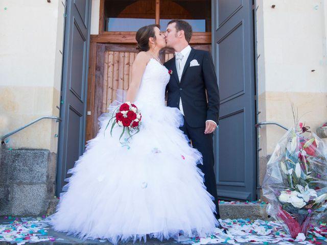 Le mariage de Mickaël et Coralie à La Pouëze, Maine et Loire 1