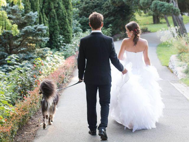 Le mariage de Mickaël et Coralie à La Pouëze, Maine et Loire 4