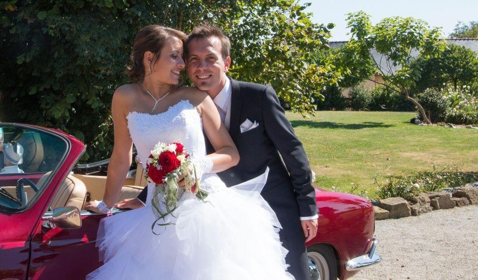 Le mariage de Mickaël et Coralie à La Pouëze, Maine et Loire