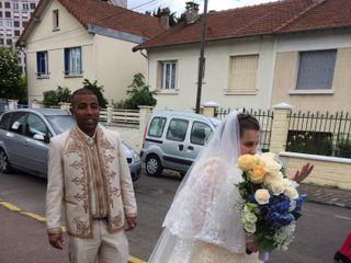 Le mariage de Clotilde et Belgacem 1