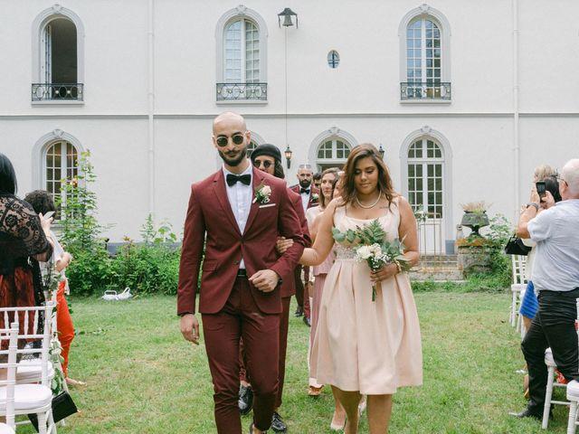 Le mariage de Xavier et Imane à Paris, Paris 21