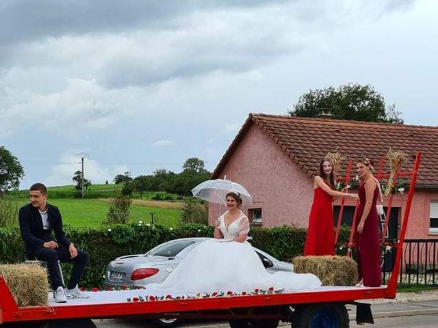 Le mariage de Julien et Coralie à Florémont, Vosges 9