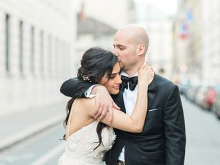 Le mariage de Mojgan et Simon