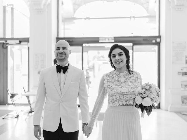 Le mariage de Simon et Mojgan à Paris, Paris 22