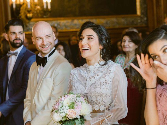 Le mariage de Simon et Mojgan à Paris, Paris 25