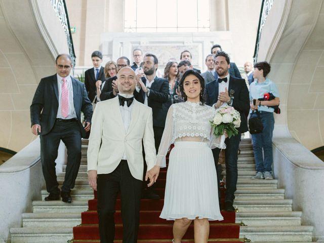 Le mariage de Simon et Mojgan à Paris, Paris 27