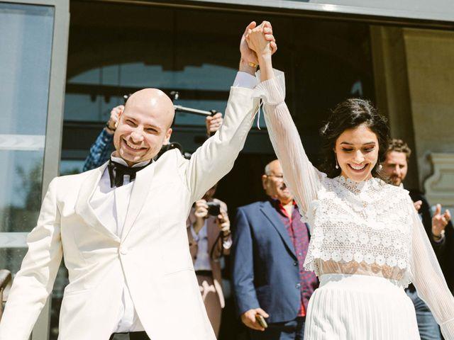 Le mariage de Simon et Mojgan à Paris, Paris 28