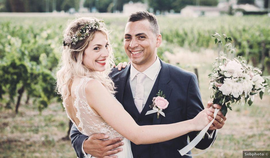 Le mariage de Nicolas et Claire à Fronsac, Gironde