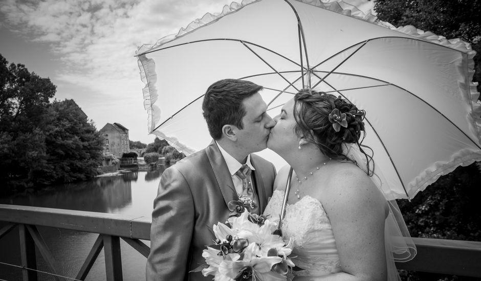 Le mariage de Julien et Audrey à Durtal, Maine et Loire