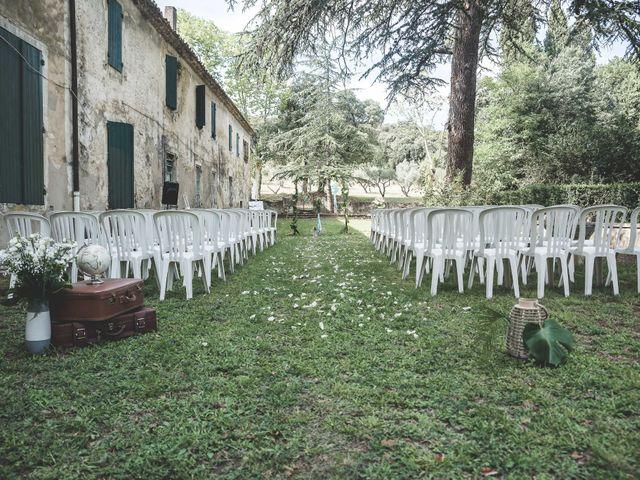 Le mariage de Matthieu et Elodie à Roquemaure, Gard 3
