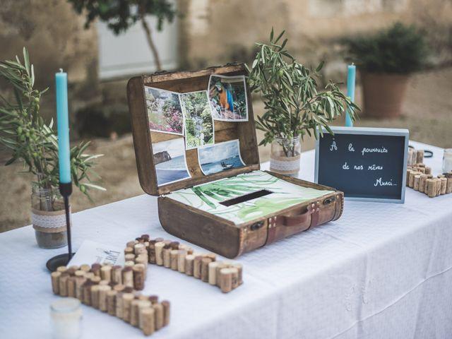 Le mariage de Matthieu et Elodie à Roquemaure, Gard 7