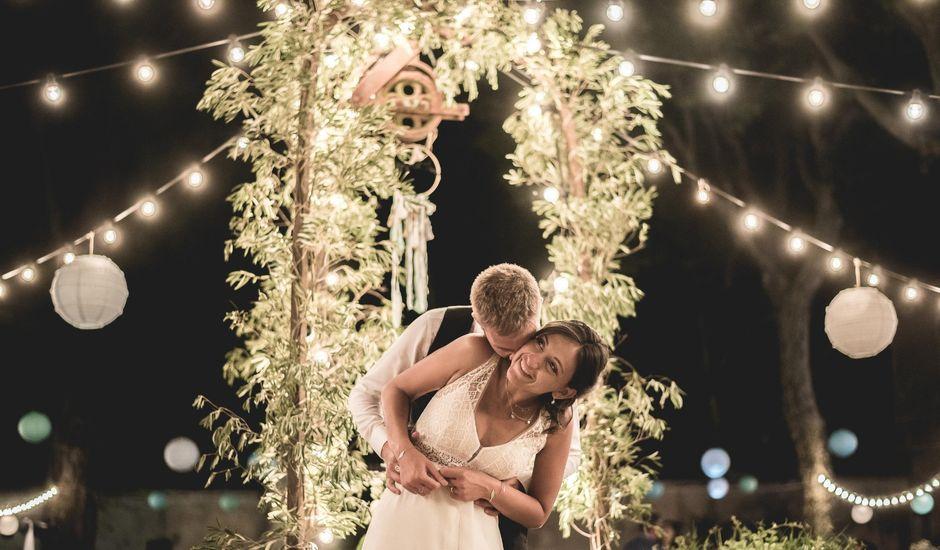 Le mariage de Matthieu et Elodie à Roquemaure, Gard