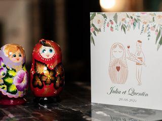 Le mariage de Iuliia et Quentin 1