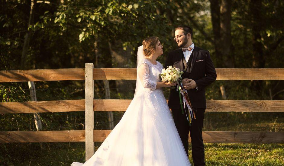 Le mariage de Francisque et Manon à Aubière, Puy-de-Dôme