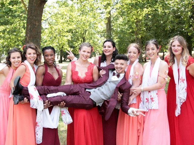 Le mariage de Julien et Aline à Montereau-faut-Yonne, Seine-et-Marne 37