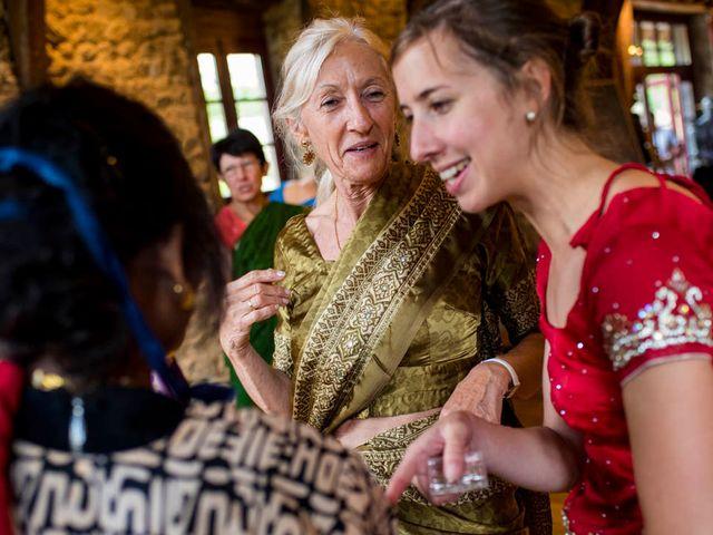 Le mariage de Vinod et Céline à Miremont , Puy-de-Dôme 35