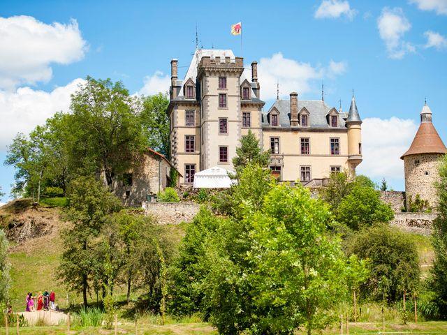 Le mariage de Vinod et Céline à Miremont , Puy-de-Dôme 41