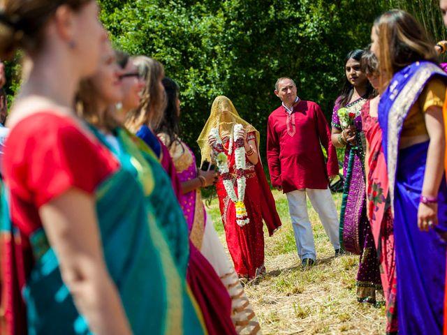 Le mariage de Vinod et Céline à Miremont , Puy-de-Dôme 48