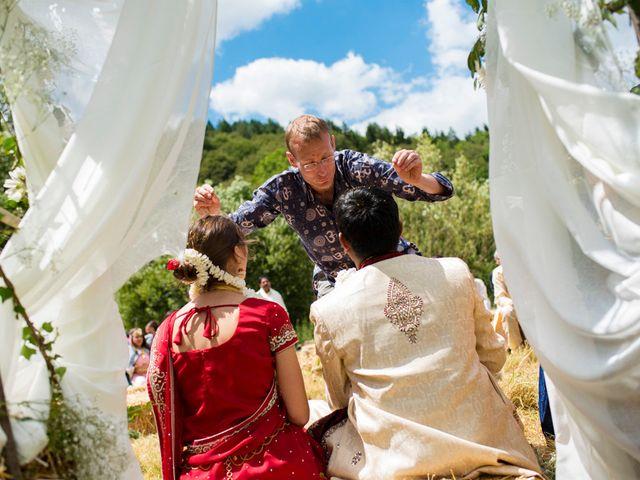 Le mariage de Vinod et Céline à Miremont , Puy-de-Dôme 59