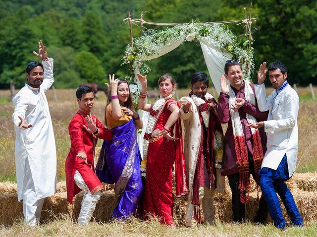 Le mariage de Vinod et Céline à Miremont , Puy-de-Dôme 1