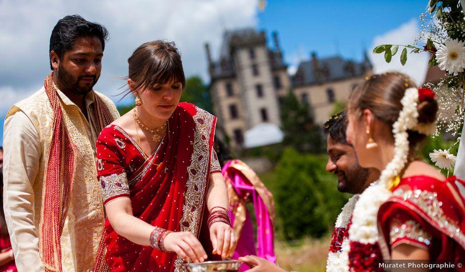 Le mariage de Vinod et Céline à Miremont , Puy-de-Dôme