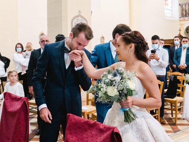 Le mariage de William et Johanna à Barsac, Gironde 44