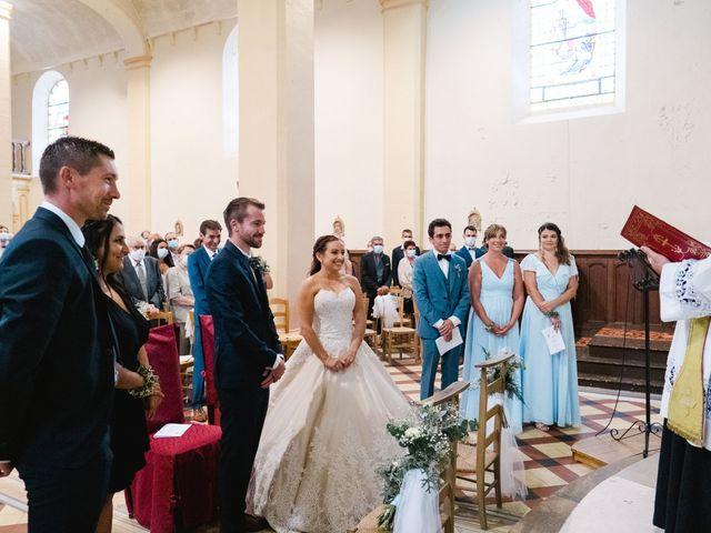 Le mariage de William et Johanna à Barsac, Gironde 52