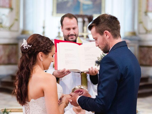 Le mariage de William et Johanna à Barsac, Gironde 56