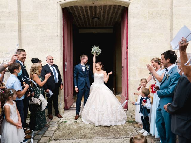 Le mariage de William et Johanna à Barsac, Gironde 63