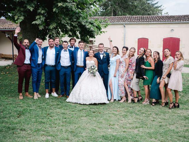 Le mariage de William et Johanna à Barsac, Gironde 76