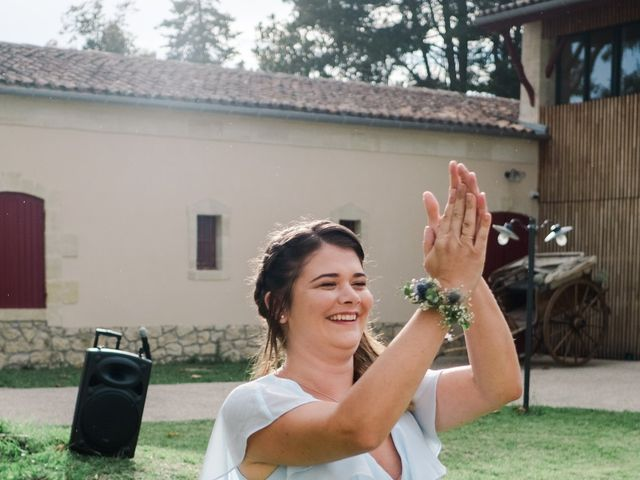 Le mariage de William et Johanna à Barsac, Gironde 88