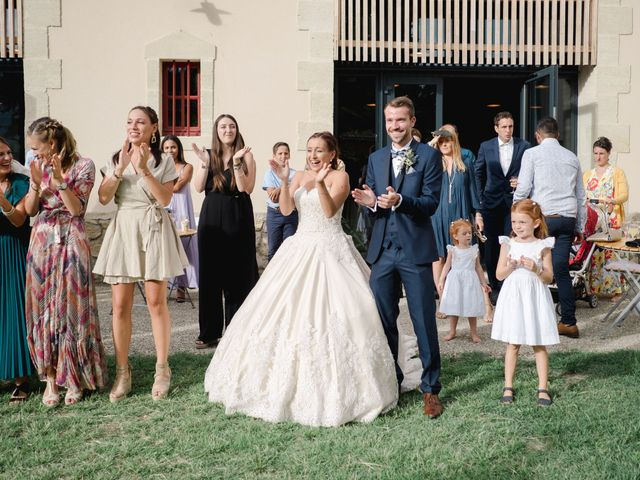 Le mariage de William et Johanna à Barsac, Gironde 89