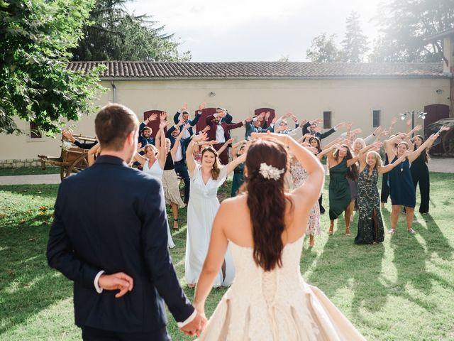 Le mariage de William et Johanna à Barsac, Gironde 90