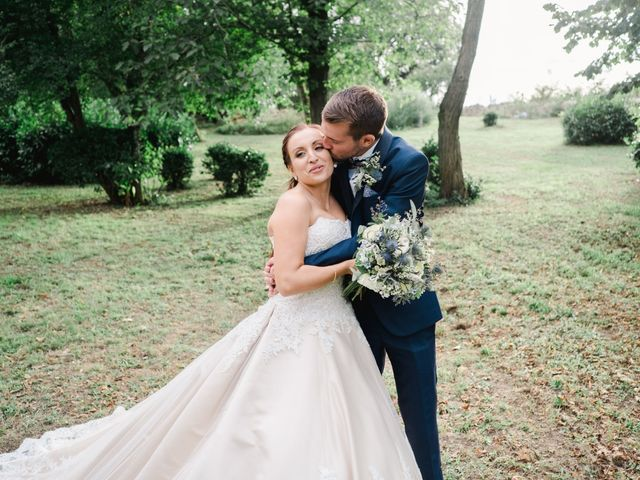 Le mariage de William et Johanna à Barsac, Gironde 97