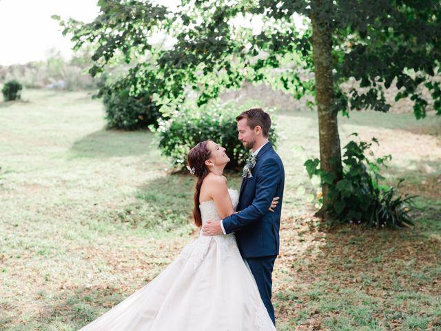 Le mariage de William et Johanna à Barsac, Gironde 100