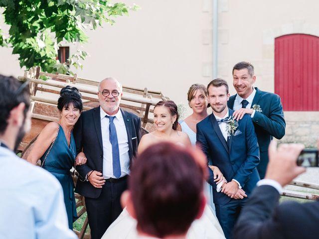Le mariage de William et Johanna à Barsac, Gironde 107