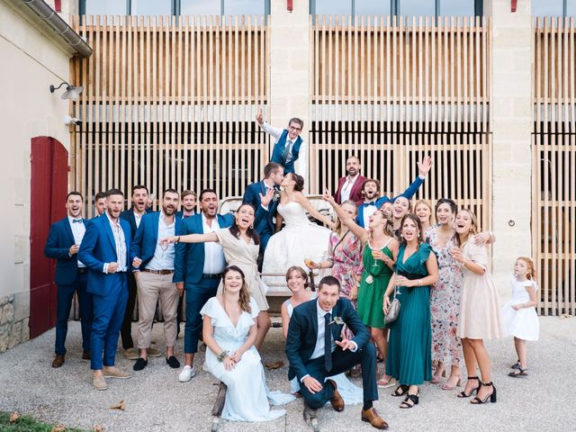 Le mariage de William et Johanna à Barsac, Gironde 2