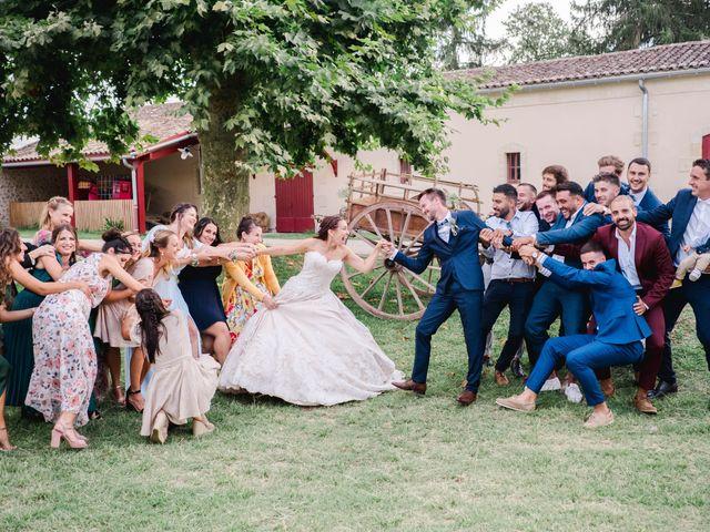 Le mariage de William et Johanna à Barsac, Gironde 117