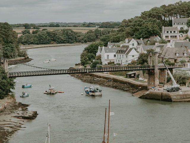 Le mariage de Guillaume et Jeanne à Le Bono, Morbihan 3