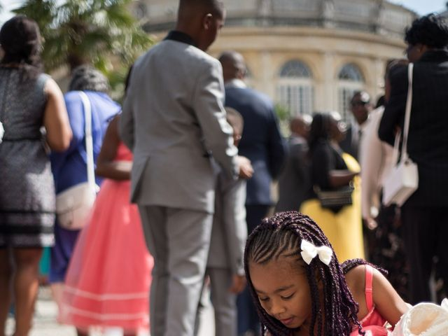 Le mariage de Sylvan et Anita à L'Hermitage, Ille et Vilaine 29