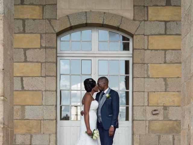 Le mariage de Sylvan et Anita à L'Hermitage, Ille et Vilaine 41