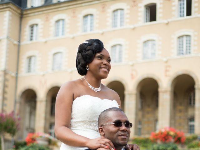 Le mariage de Sylvan et Anita à L'Hermitage, Ille et Vilaine 44