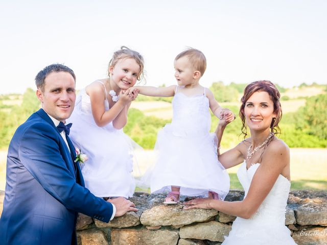 Le mariage de Anthony  et Aline à Le Magny, Indre 2