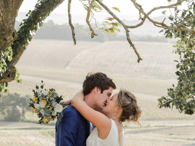 Le mariage de Adrien et Mathilde à Varennes, Haute-Garonne 19