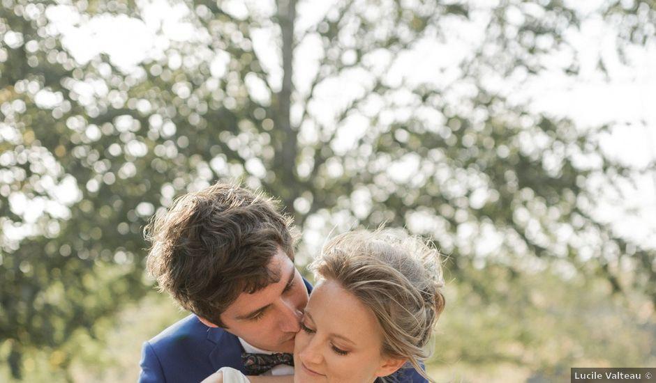 Le mariage de Adrien et Mathilde à Varennes, Haute-Garonne