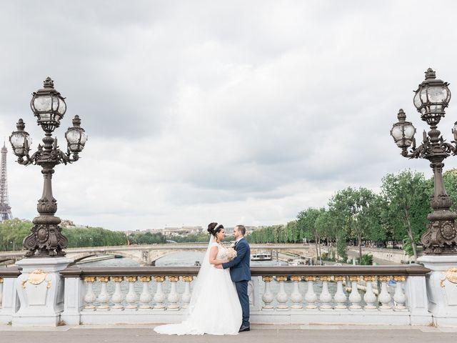 Le mariage de Beshoy et Simona à Paris, Paris 7