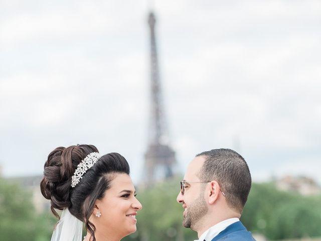 Le mariage de Beshoy et Simona à Paris, Paris 8