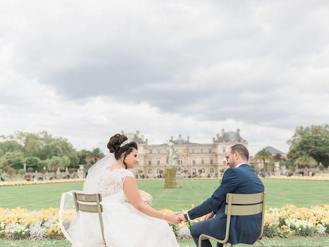 Le mariage de Beshoy et Simona à Paris, Paris 11