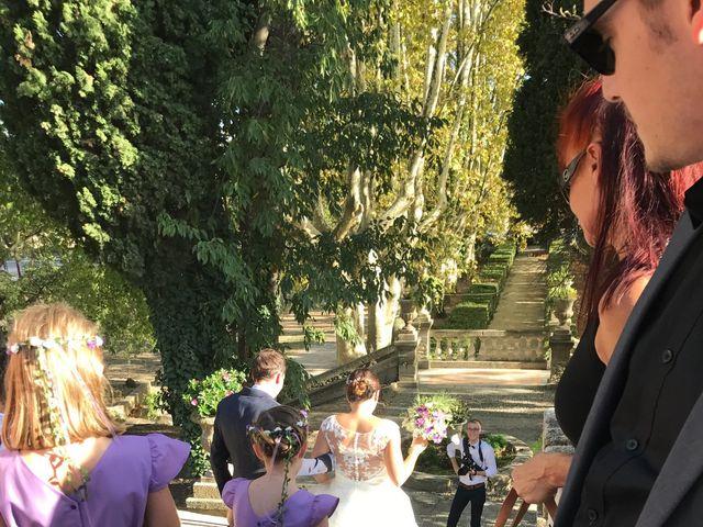 Le mariage de Nicolas et Coralie à Sauveterre, Gard 8