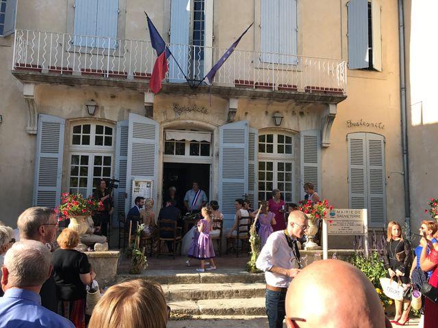 Le mariage de Nicolas et Coralie à Sauveterre, Gard 11